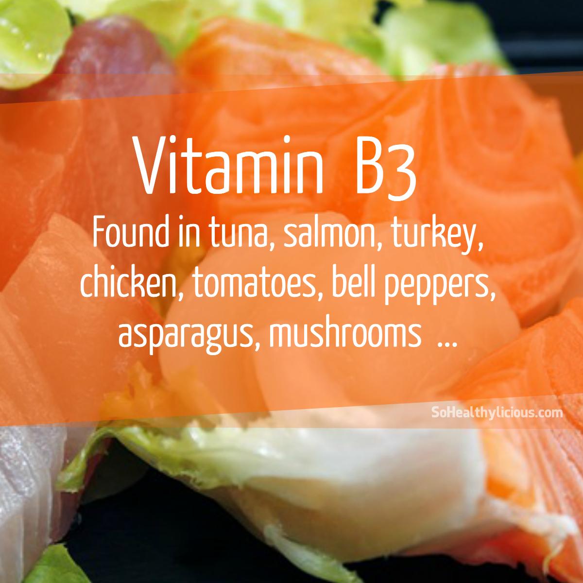 Benefits of Vitamin B3